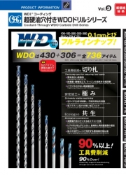 Coolant-Through WDO Carbide Drill Series Vol.3 (N-96)