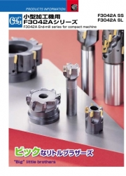 F3042A End-Mill Series for Compact Machine