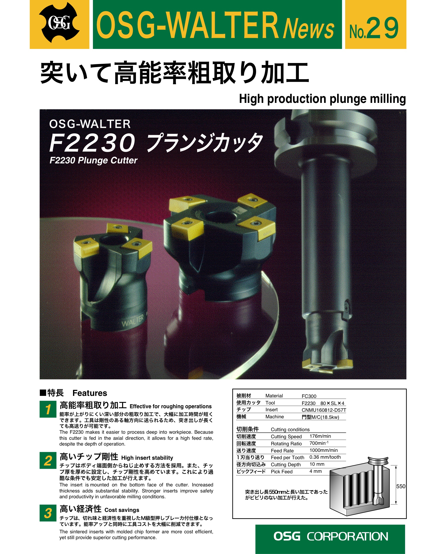 High Production Plunge Milling (F2230)